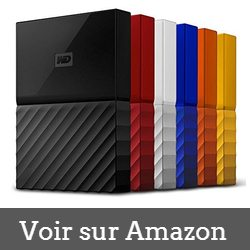 WD My Passport 1 To - disque dur externe 1to comparatif
